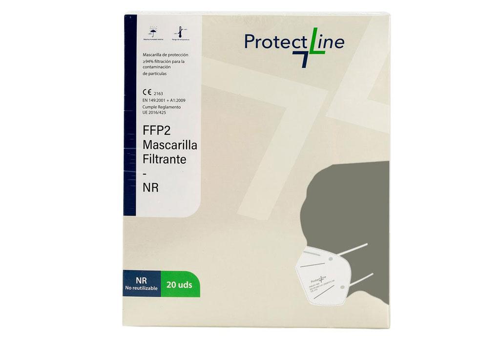 Desarrollo de mascarillas quirúrgicas FFP2 Protect Line